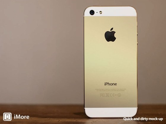Golden iPhone 黄金版iPhone